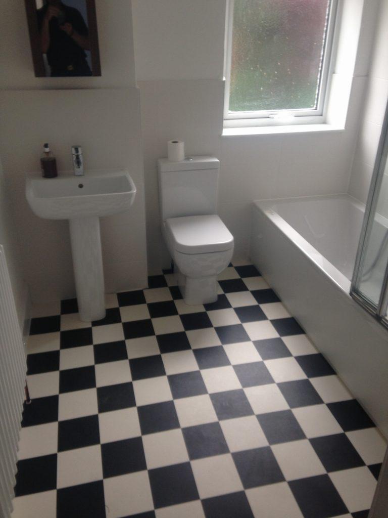 Family bathroom in Southville, Bristol